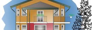 Terreno edificabile in Galliate – edificio eco-sostenibile